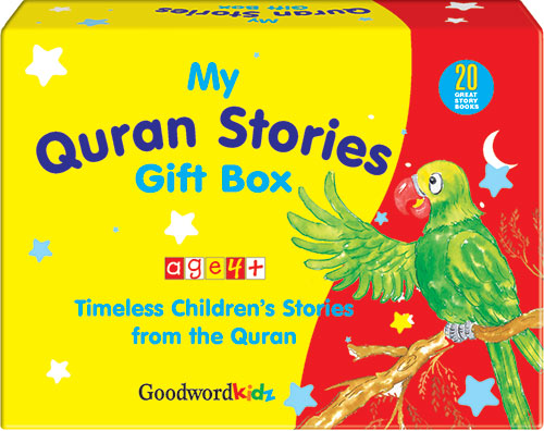 My Quran Stories Gift Box-1 (Twenty Quran Stories for Little Hearts Paperback Books)