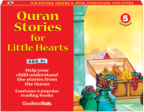 My Quran Stories for Little Hearts Gift Box-5 (Six Paperback Books)