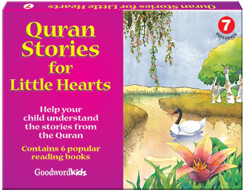 My Quran Stories for Little Hearts Gift Box-7 (Six Paperback Books)