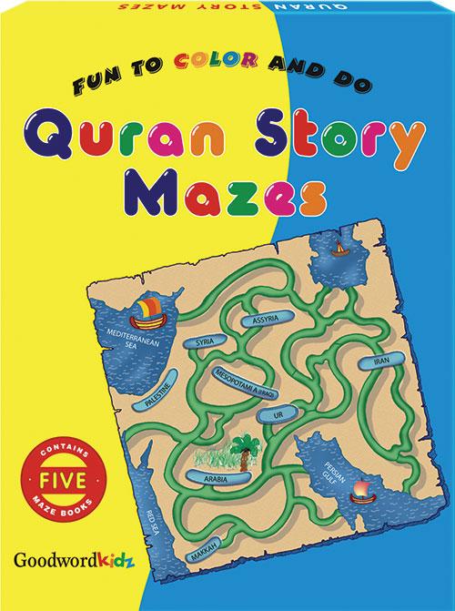 My Quran Story Mazes (Five Maze Books) Gift Box