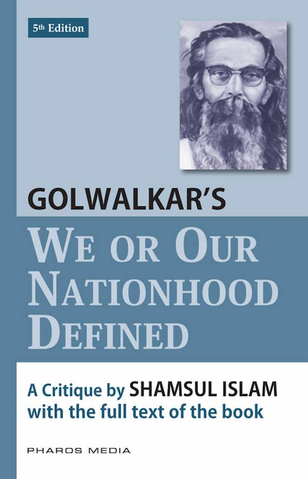 Golwalkars We or our nationhood defined_PM