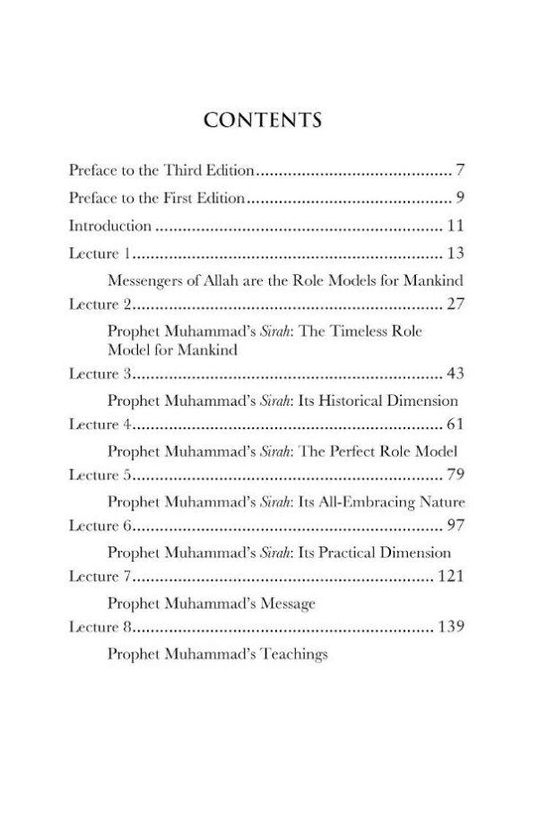 Prophet Muhammad The Role Model_PM_3